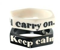 keep calm and carry on bracelets