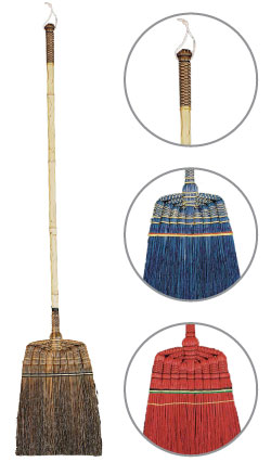 decorative brooms