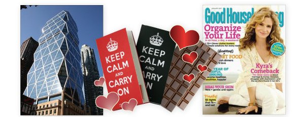 keep calm and carry on chocolates