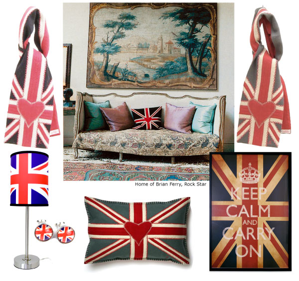 Union Jack Flag Items