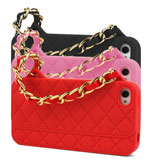 iphone case - black, pink, red
