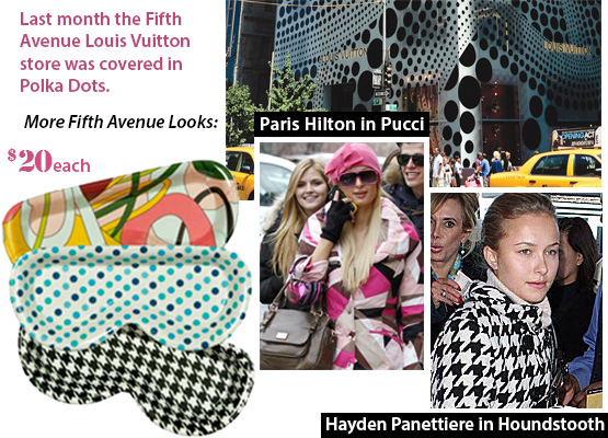 Eyeglass holder Pucci Polka Dot Houndstooth